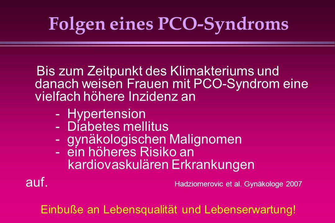Folgen eines PCO-Syndroms
