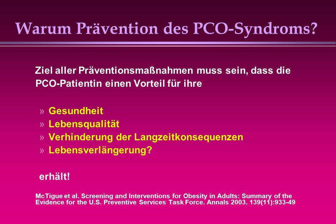 Warum Prävention des PCO-Syndroms
