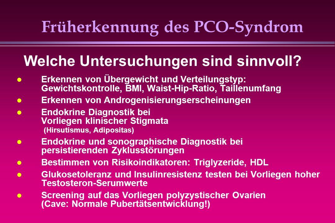 Früherkennung des PCO-Syndrom
