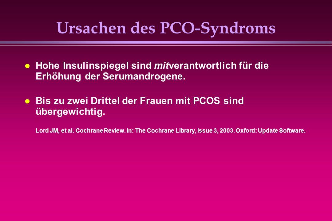 Ursachen des PCO-Syndroms