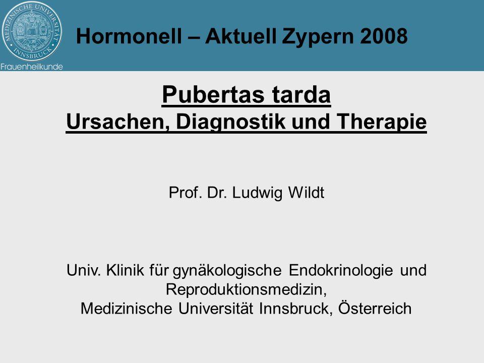 Hormonell – Aktuell Zypern 2008 Ursachen, Diagnostik und Therapie