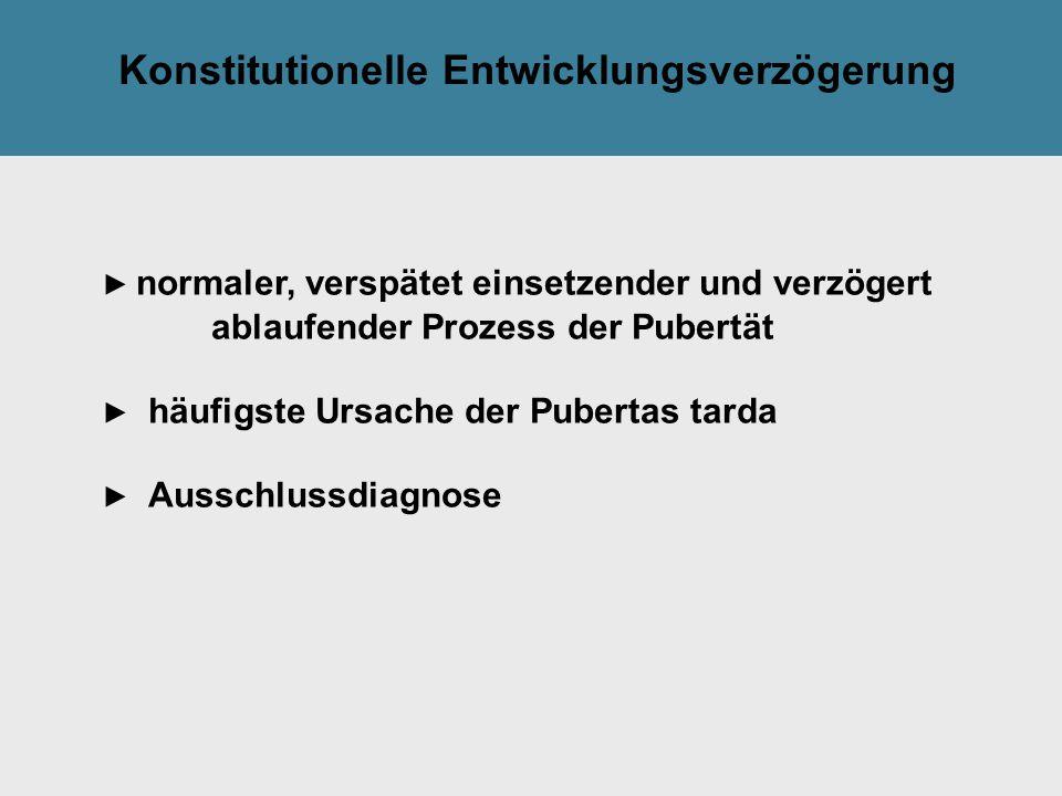 Konstitutionelle Entwicklungsverzögerung