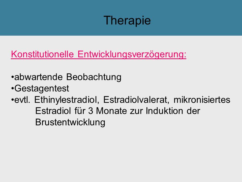 Therapie Konstitutionelle Entwicklungsverzögerung: