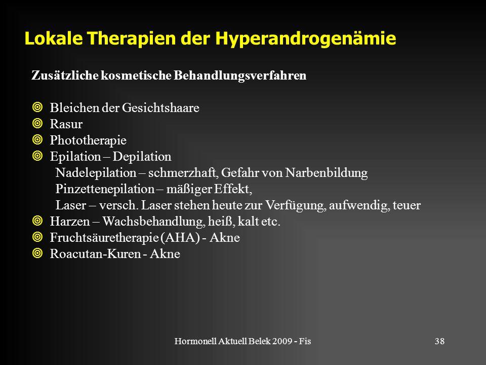 Lokale Therapien der Hyperandrogenämie