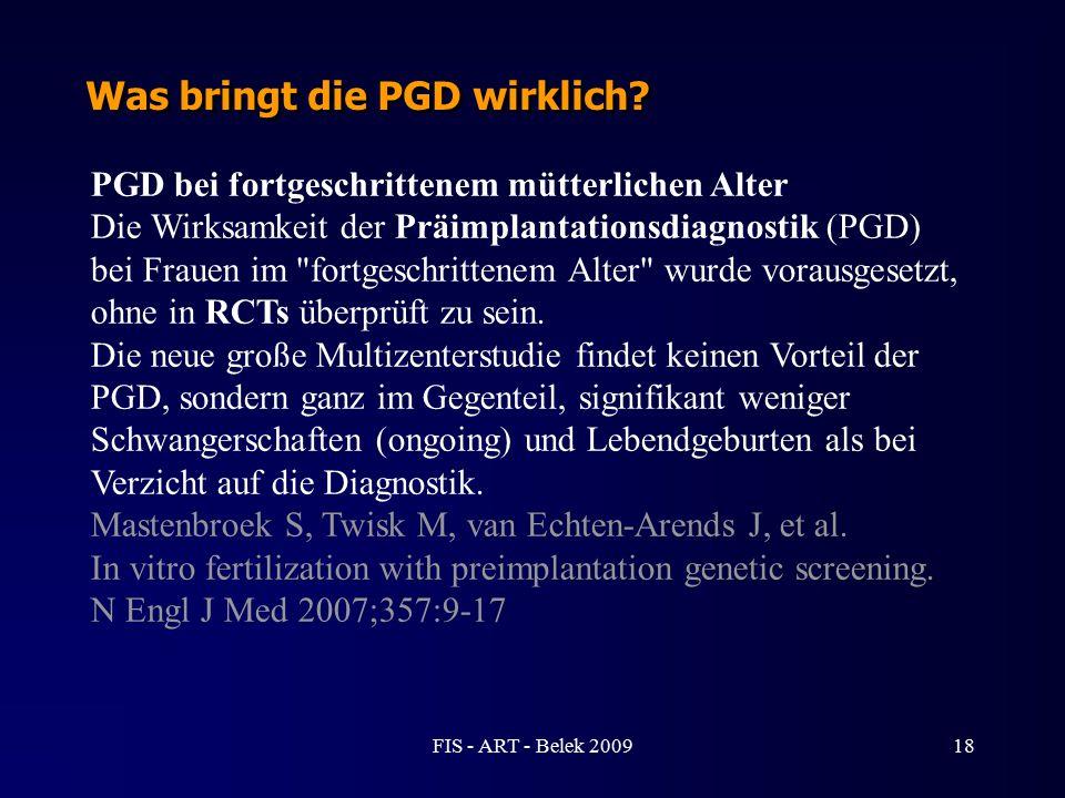 Was bringt die PGD wirklich