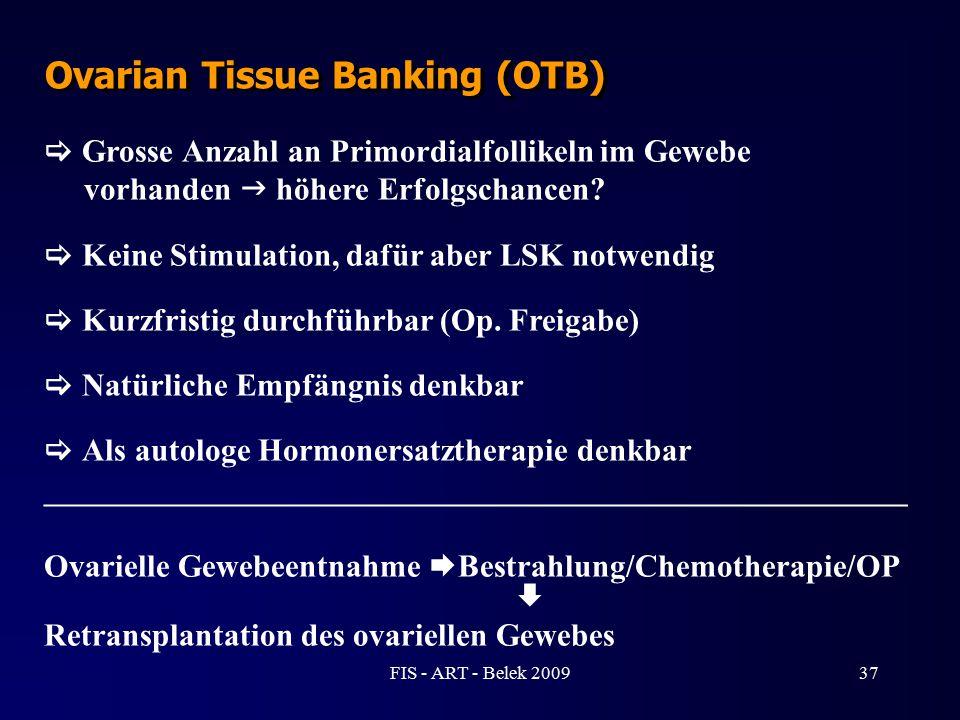 Ovarian Tissue Banking (OTB)