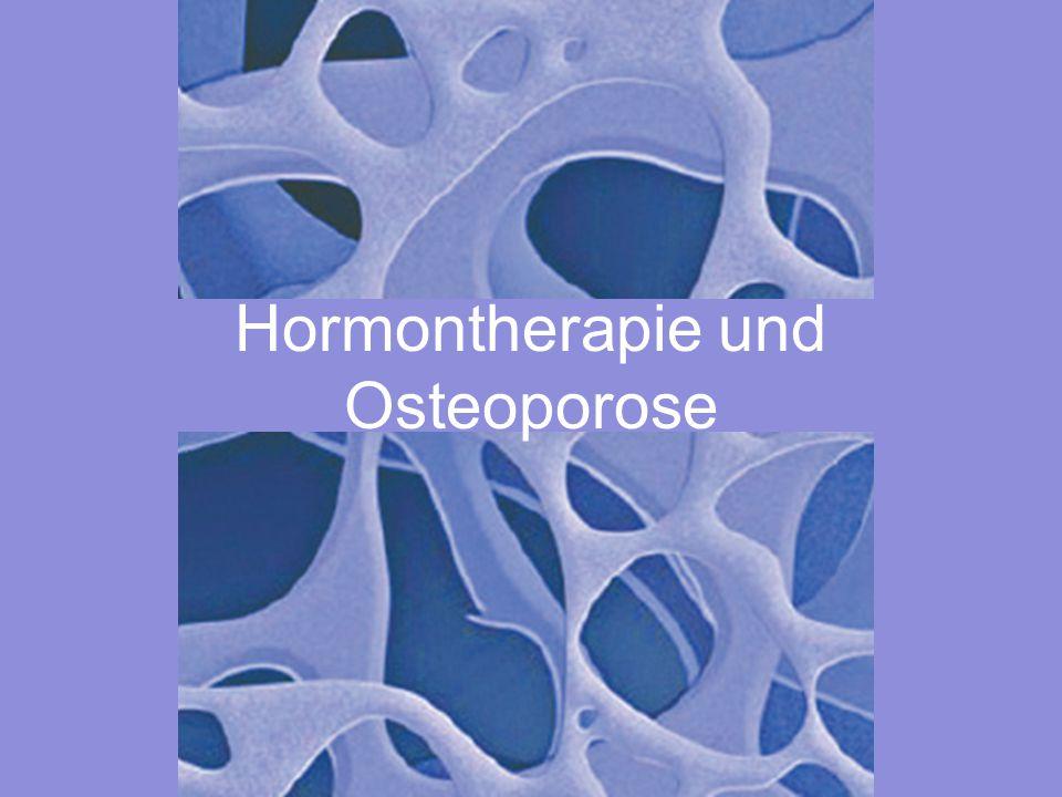 Hormontherapie und Osteoporose