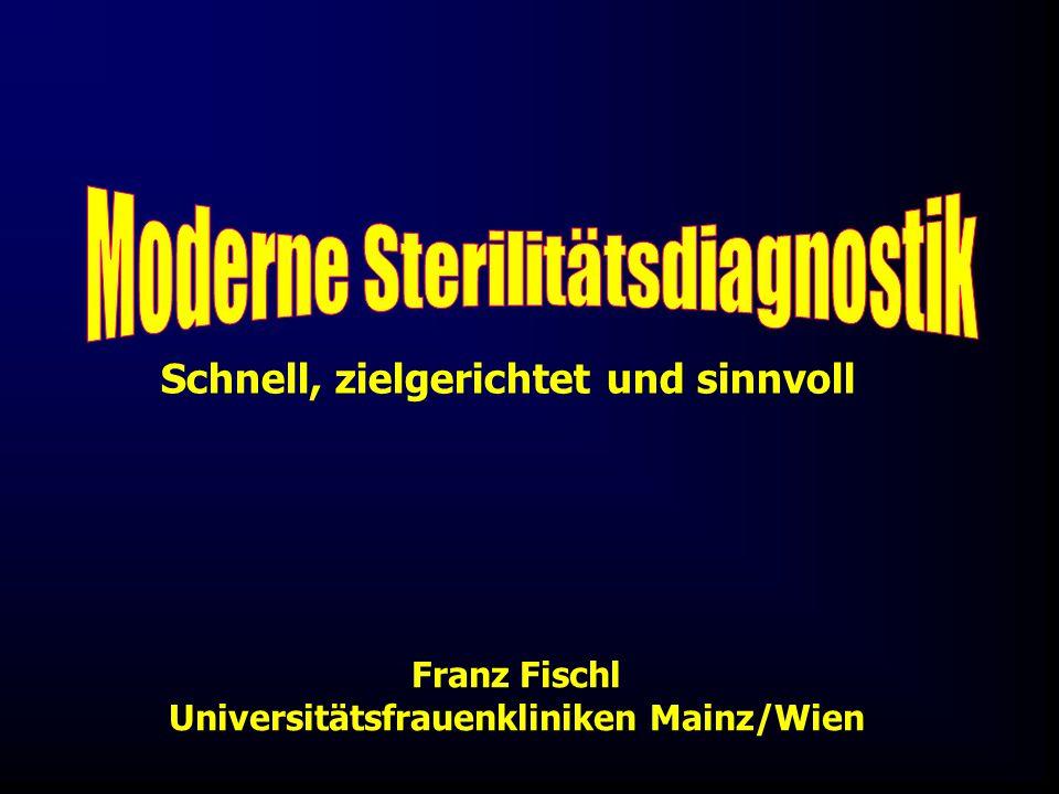 Franz Fischl Universitätsfrauenkliniken Mainz/Wien