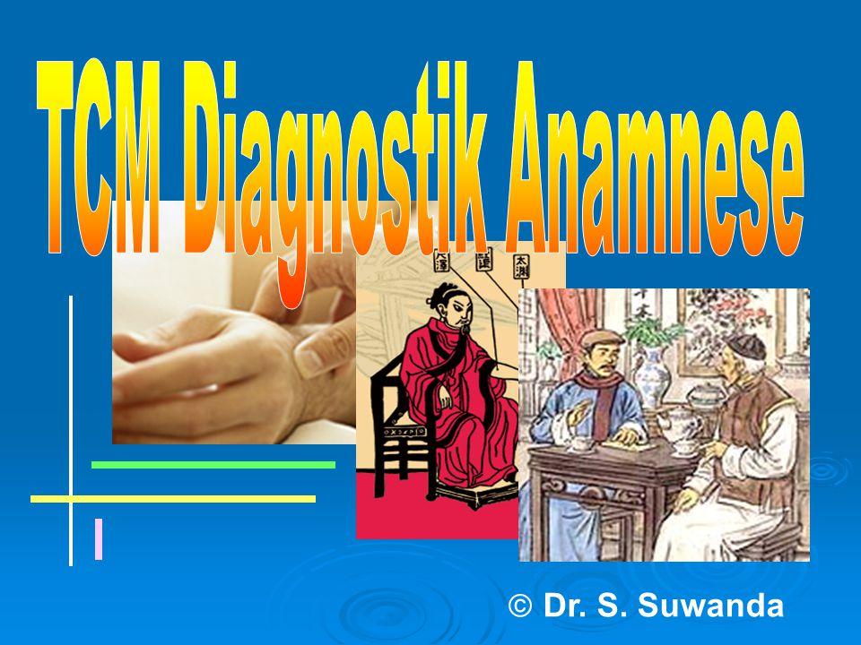 TCM Diagnostik Anamnese