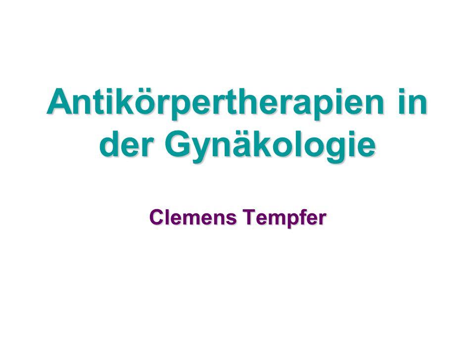 Antikörpertherapien in der Gynäkologie