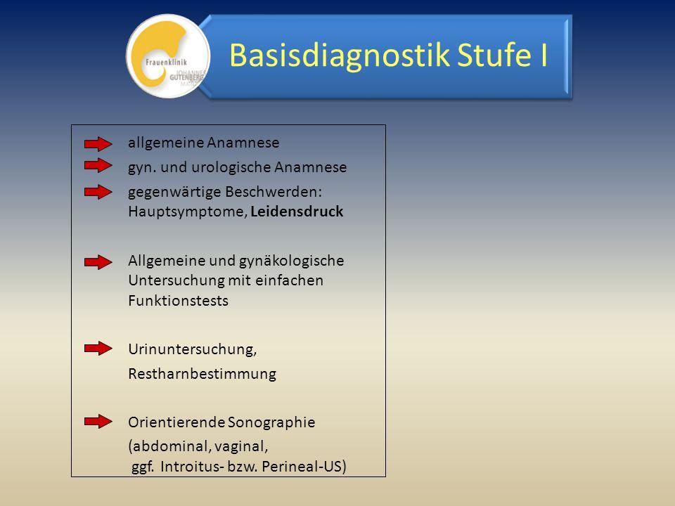Basisdiagnostik Stufe I