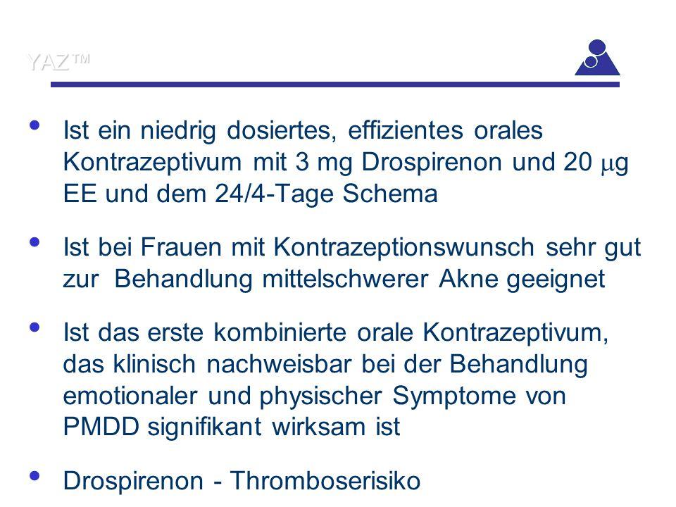Drospirenon - Thromboserisiko