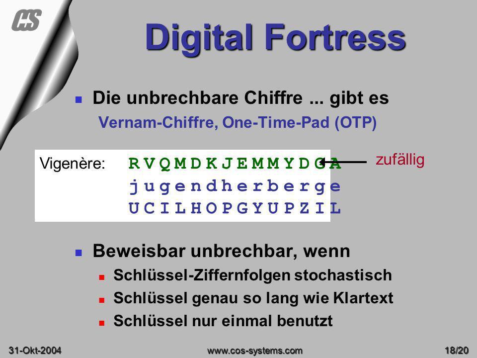 Digital Fortress Die unbrechbare Chiffre ... gibt es