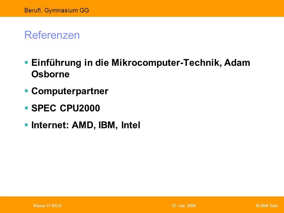 Referenzen Einführung in die Mikrocomputer-Technik, Adam Osborne