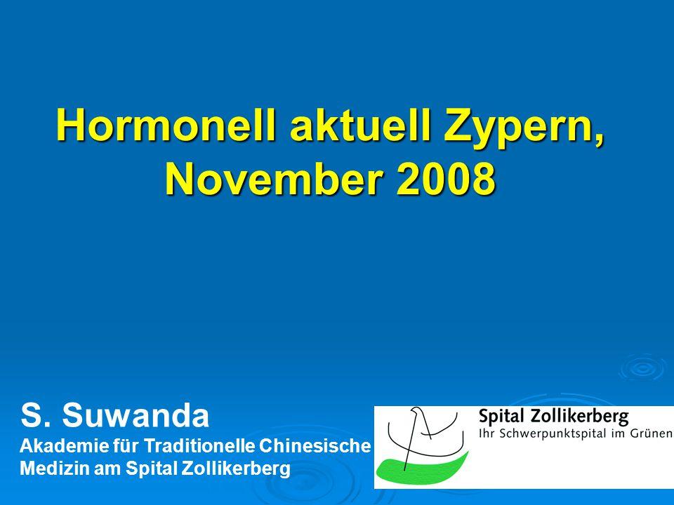 Hormonell aktuell Zypern, November 2008