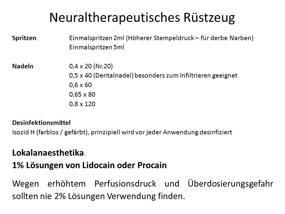Neuraltherapeutisches Rüstzeug