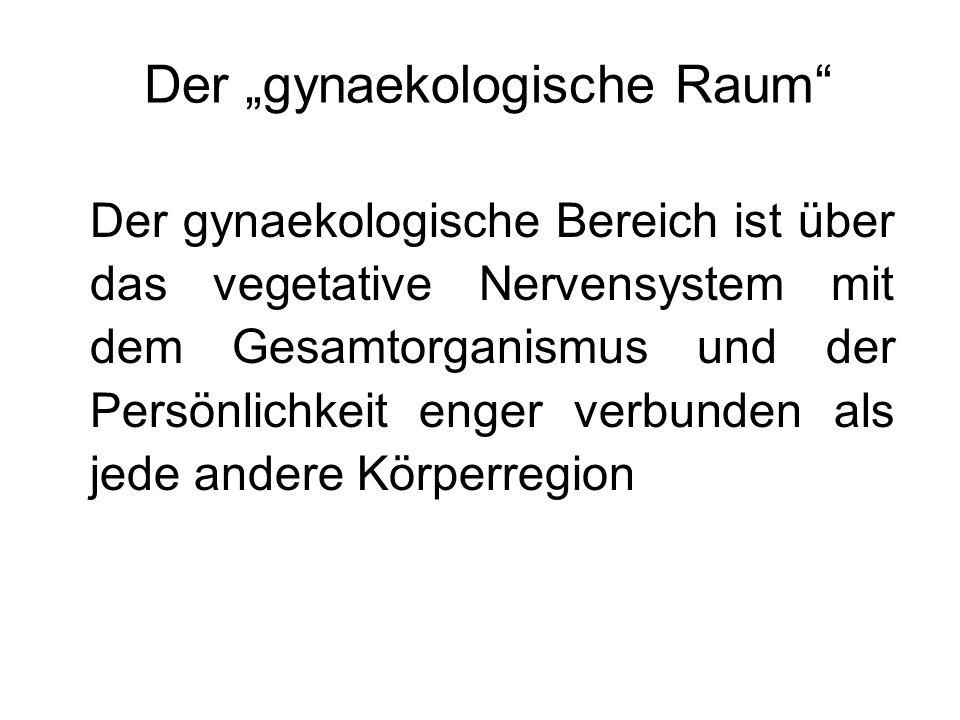 """Der """"gynaekologische Raum"""