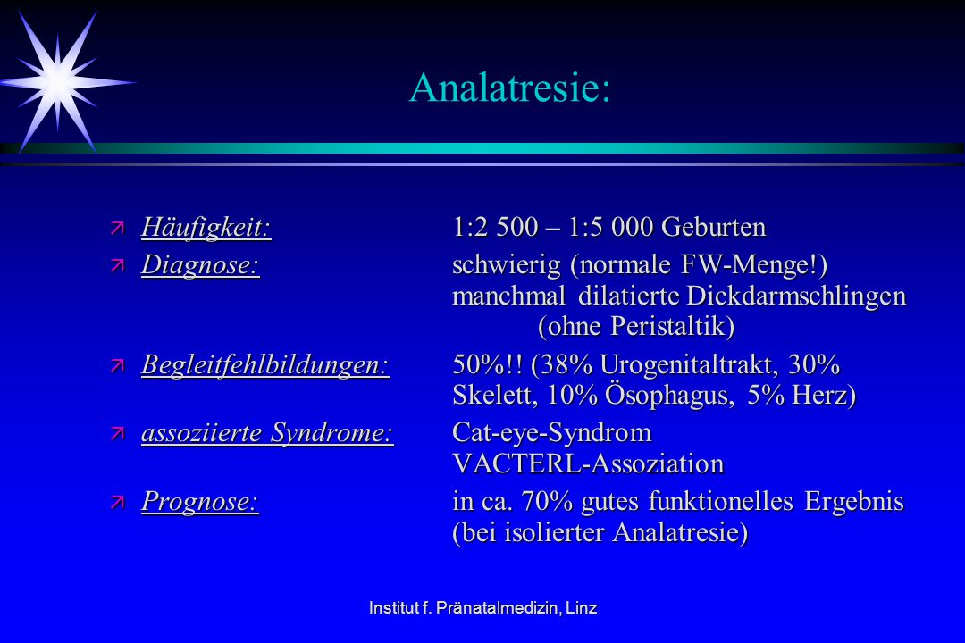 Institut f. Pränatalmedizin, Linz