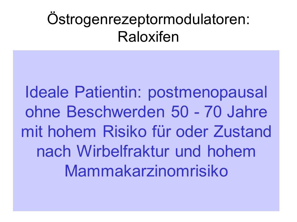 Östrogenrezeptormodulatoren: Raloxifen