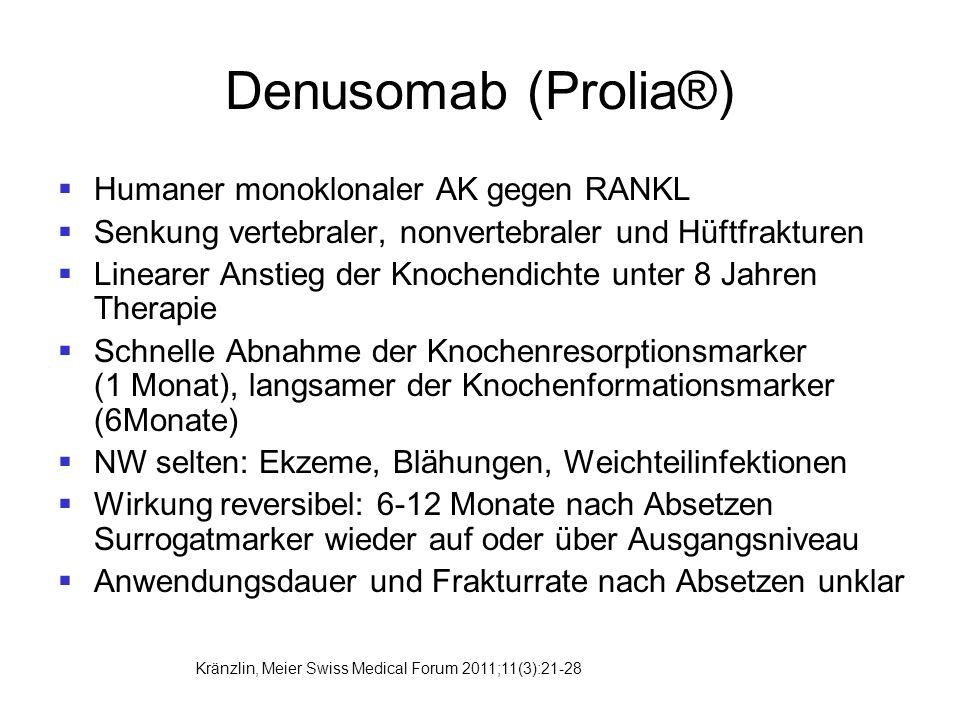 Denusomab (Prolia®) Humaner monoklonaler AK gegen RANKL