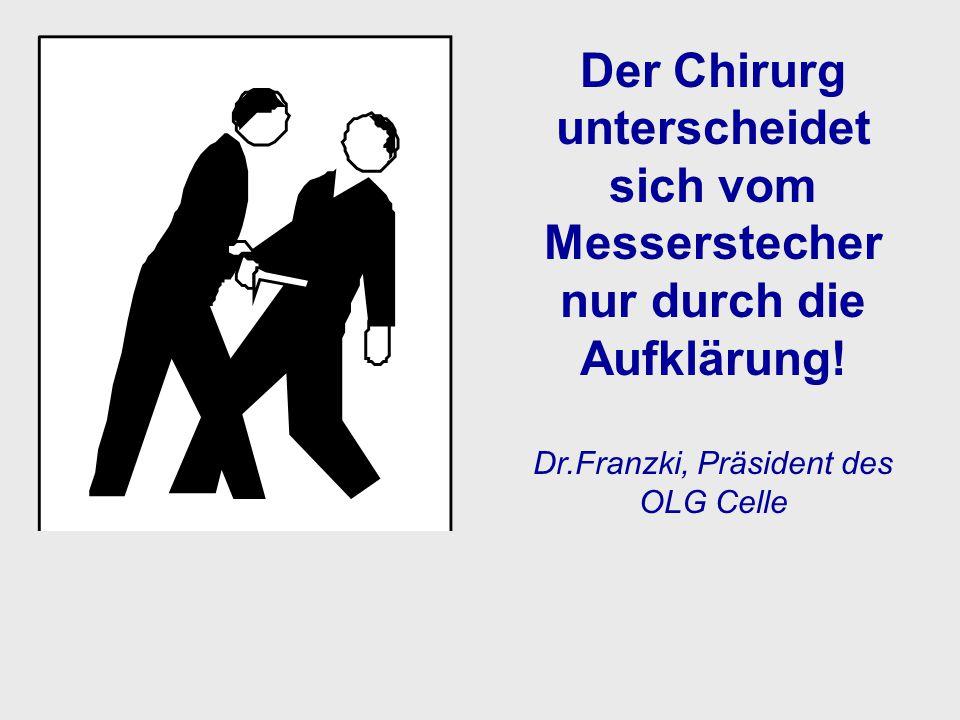 Dr.Franzki, Präsident des OLG Celle