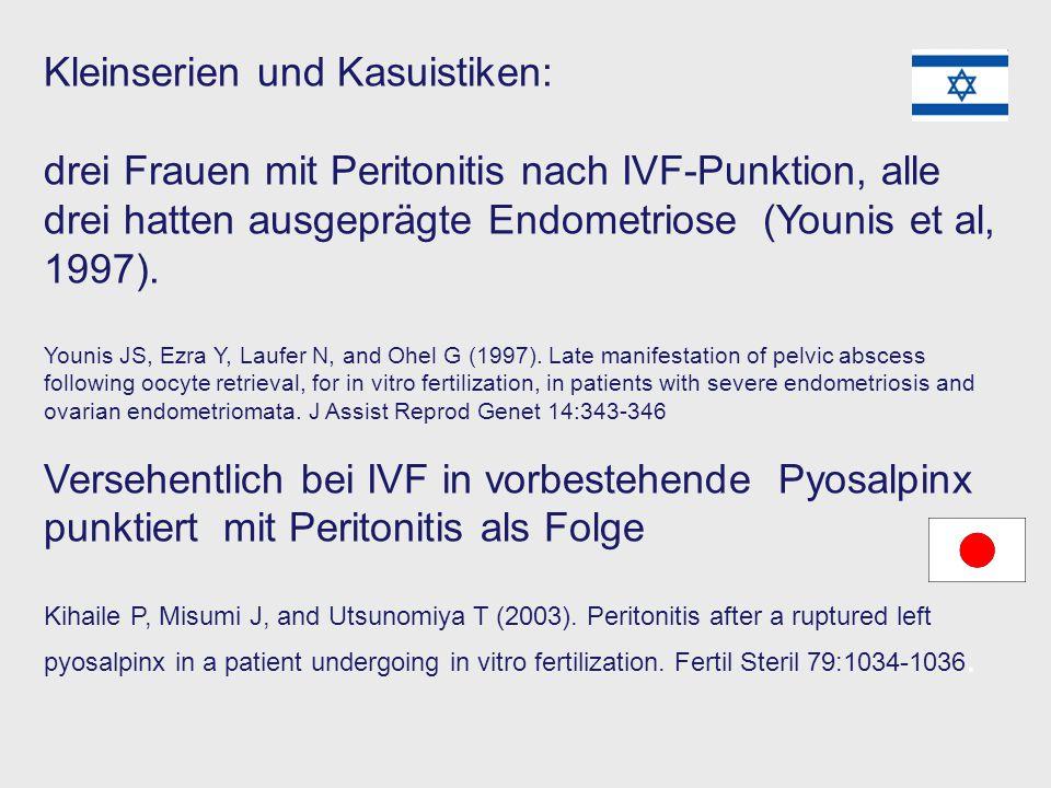 Kleinserien und Kasuistiken:
