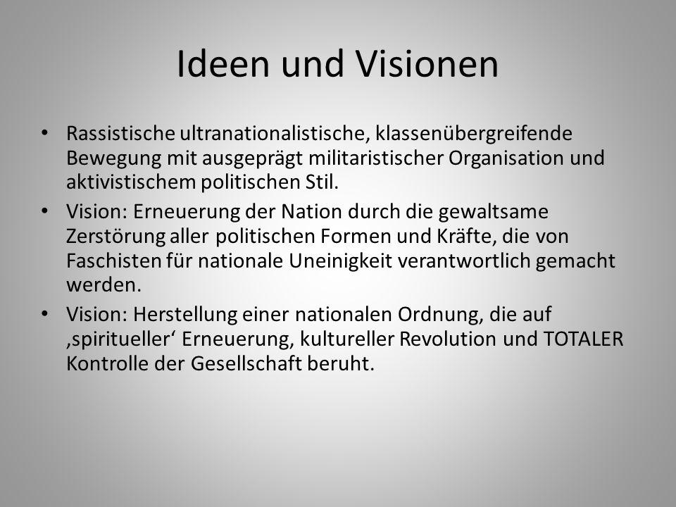 Ideen und Visionen