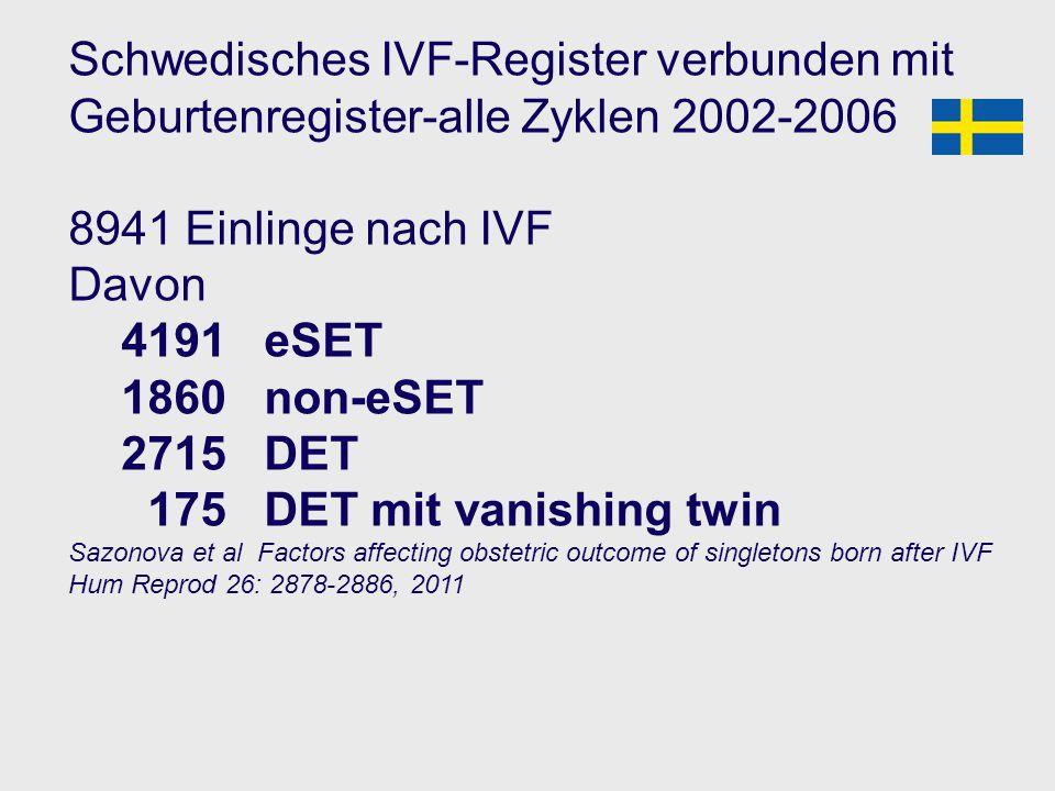 Schwedisches IVF-Register verbunden mit Geburtenregister-alle Zyklen 2002-2006
