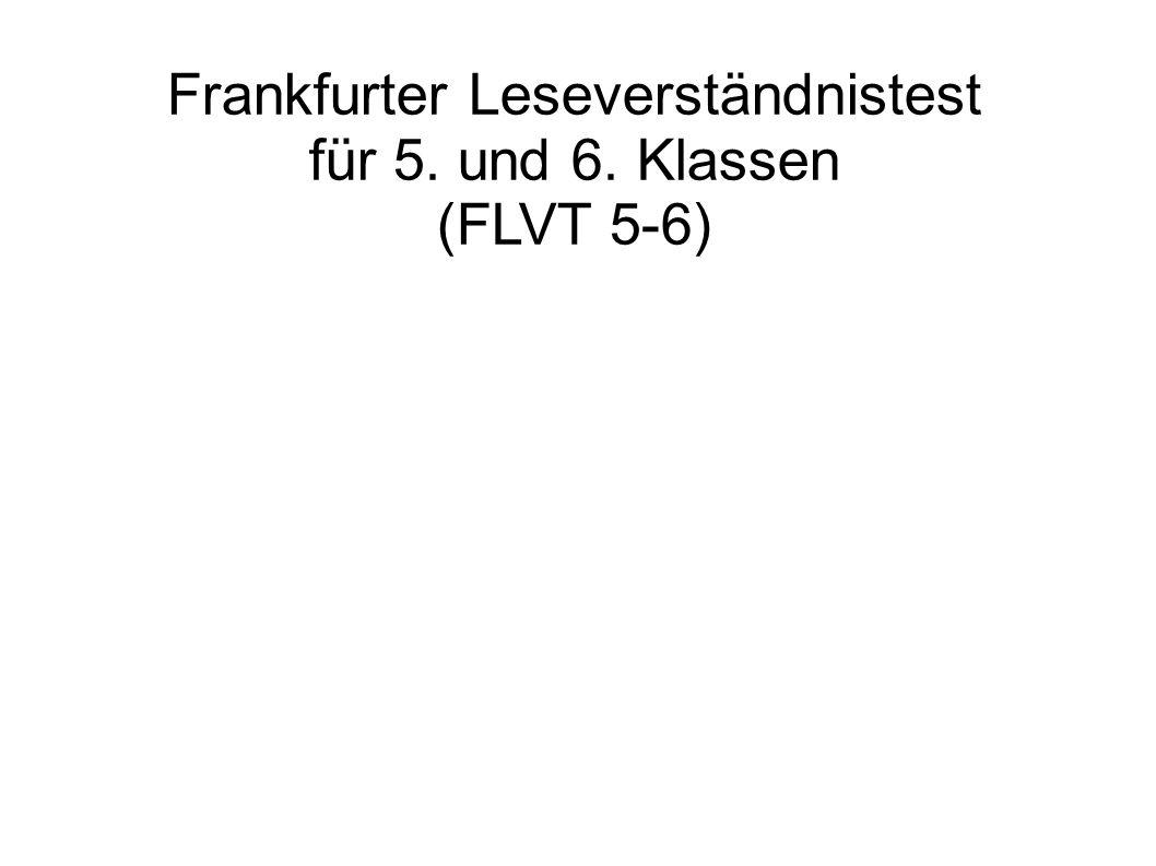 Frankfurter Leseverständnistest