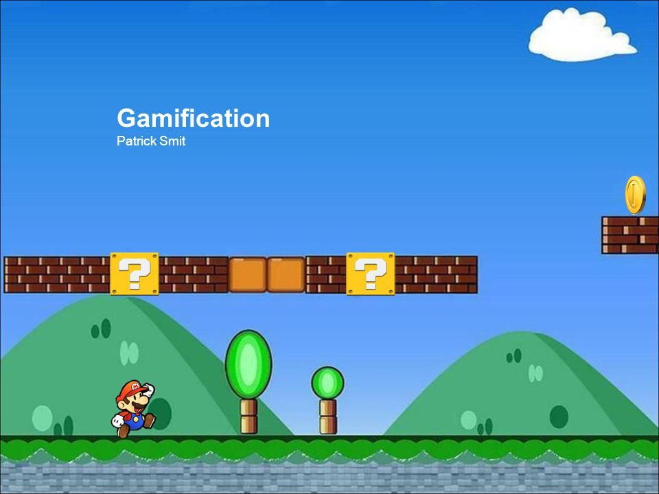 Gamification Patrick Smit