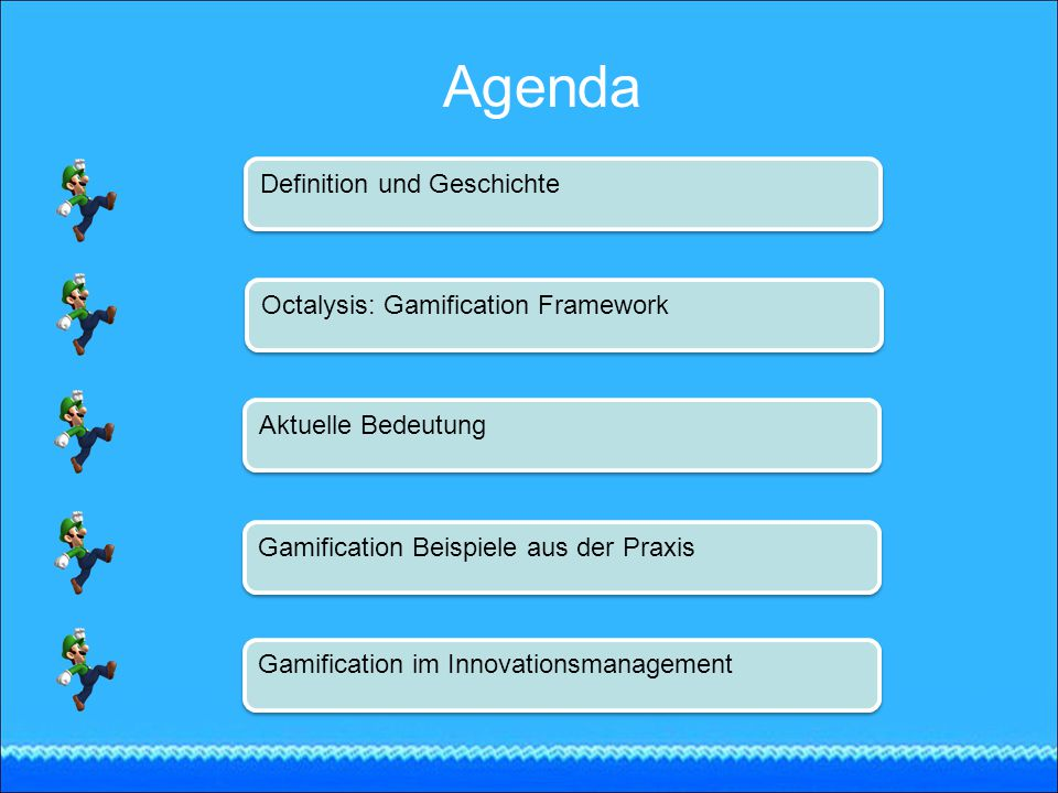 Agenda Definition und Geschichte Octalysis: Gamification Framework