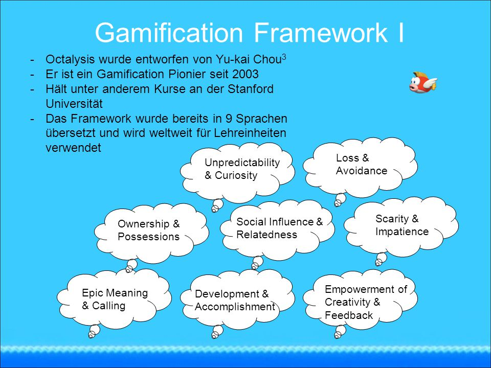 Gamification Framework I