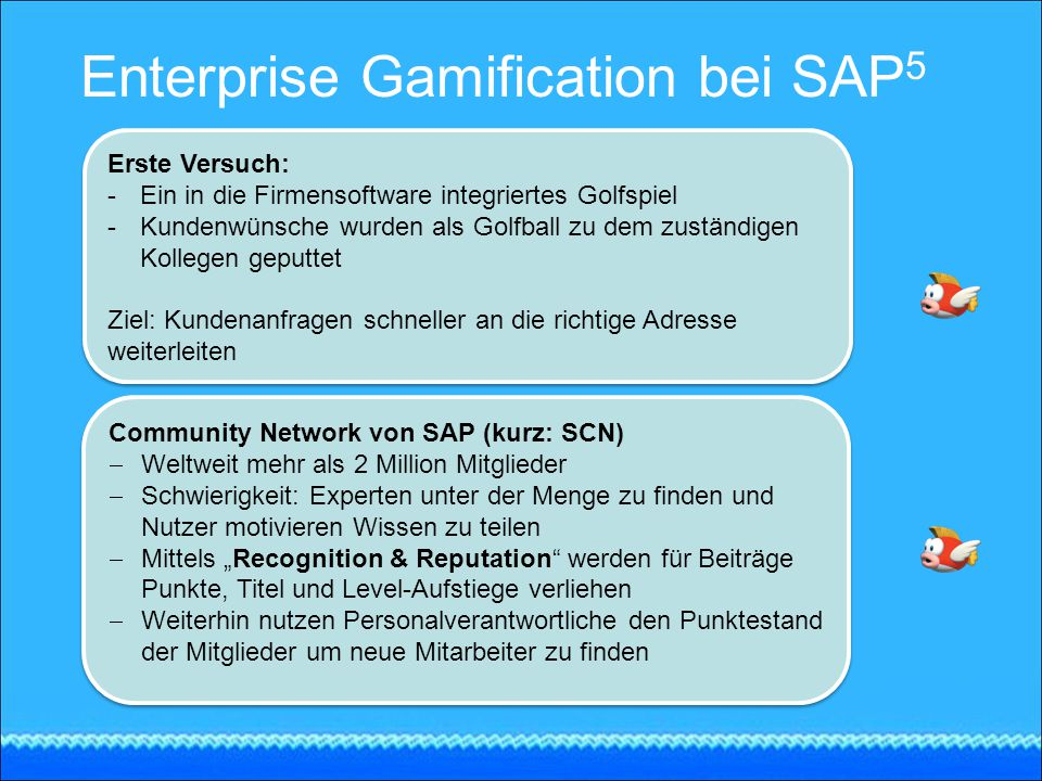 Enterprise Gamification bei SAP5
