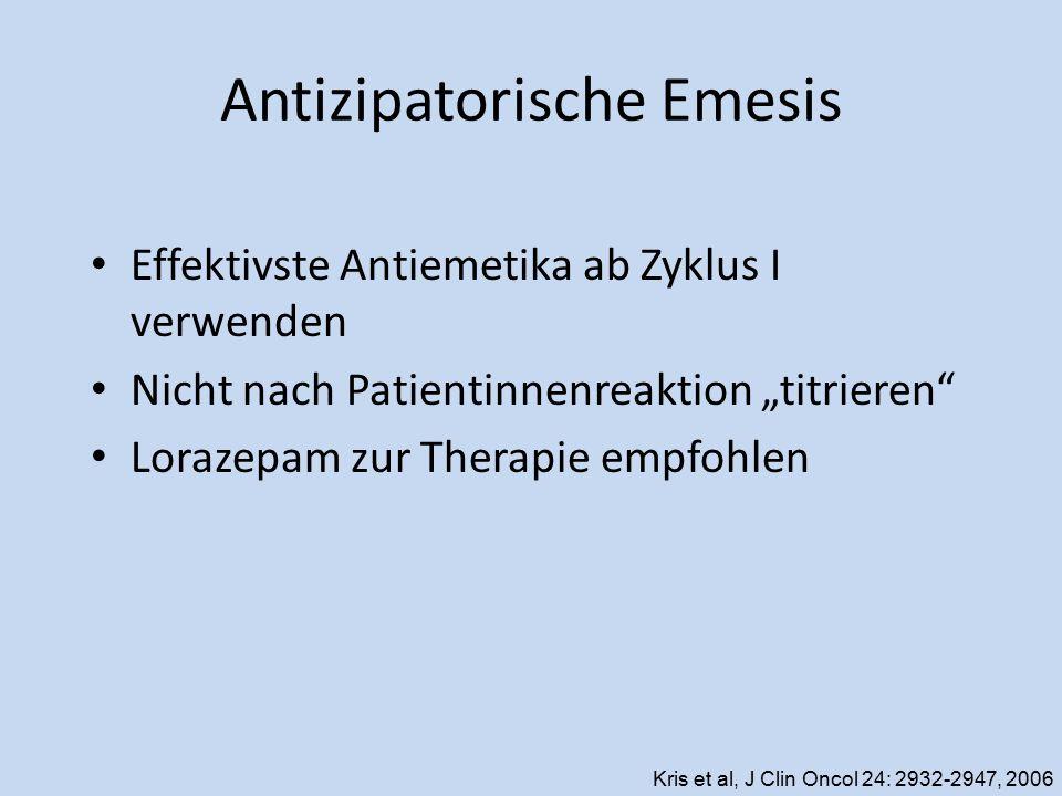 Antizipatorische Emesis