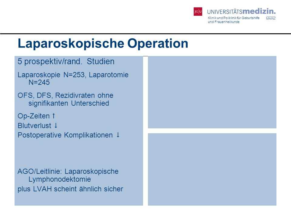 Laparoskopische Operation