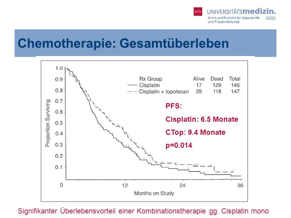 Chemotherapie: Gesamtüberleben