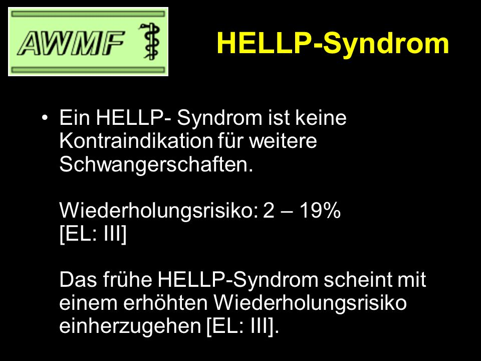 HELLP-Syndrom