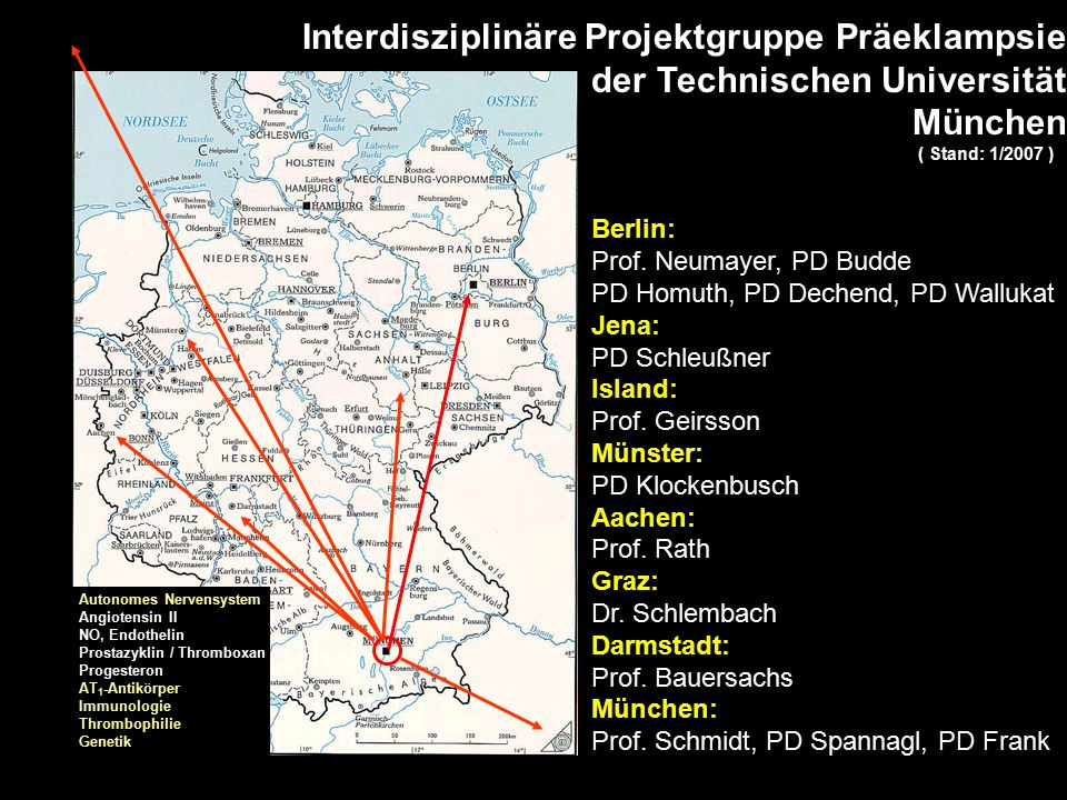 Interdisziplinäre Projektgruppe Präeklampsie