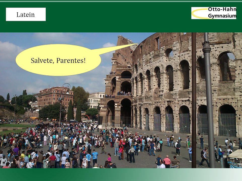 Latein Salvete, Parentes! 1