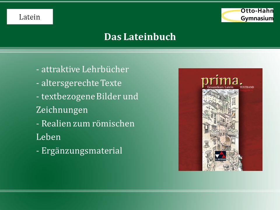 Das Lateinbuch - attraktive Lehrbücher - altersgerechte Texte