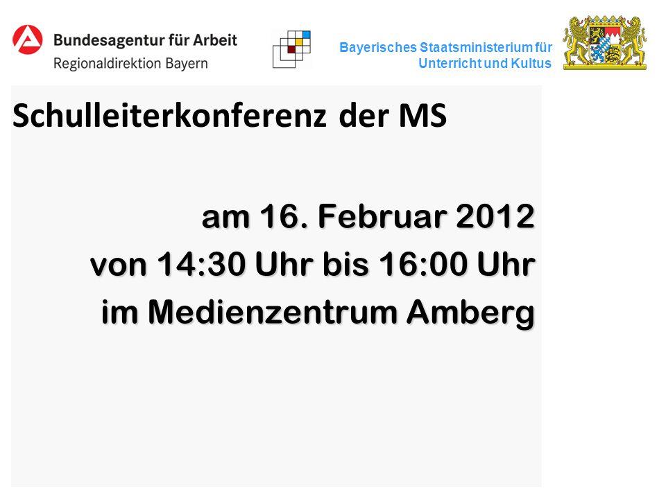 Schulleiterkonferenz der MS