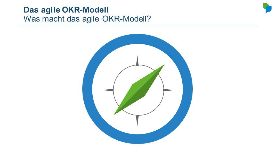 Das agile OKR-Modell Was macht das agile OKR-Modell
