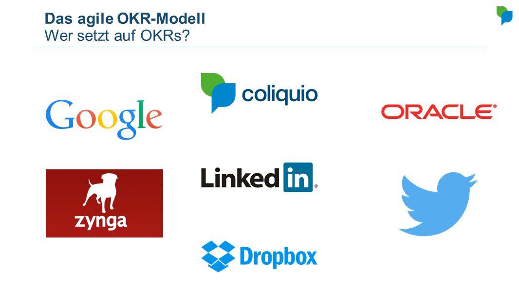 Das agile OKR-Modell Wer setzt auf OKRs