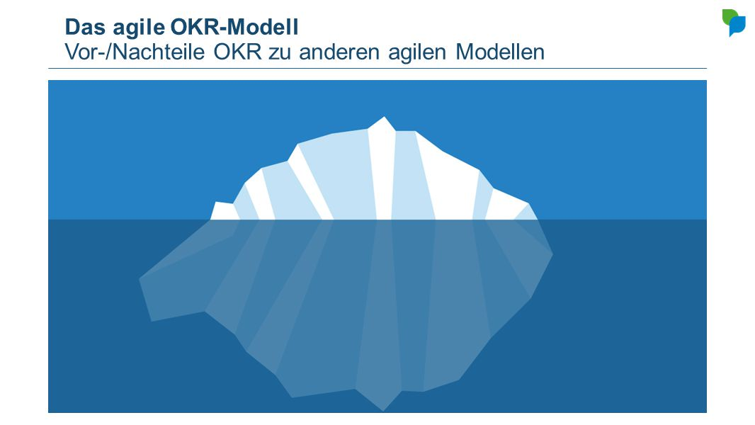 Das agile OKR-Modell Vor-/Nachteile OKR zu anderen agilen Modellen
