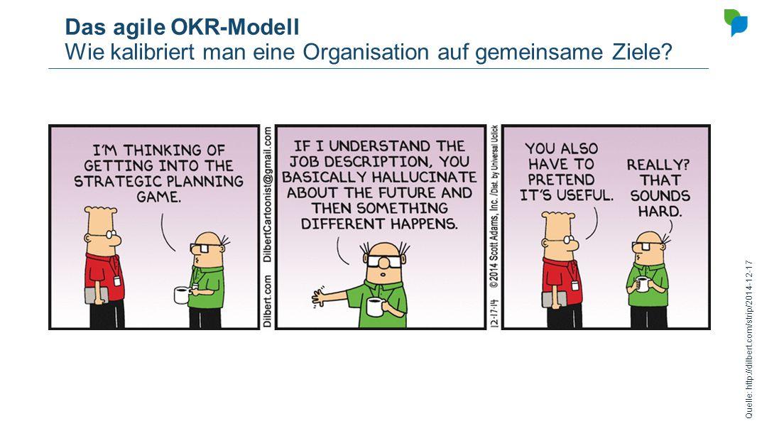 Das agile OKR-Modell Wie kalibriert man eine Organisation auf gemeinsame Ziele