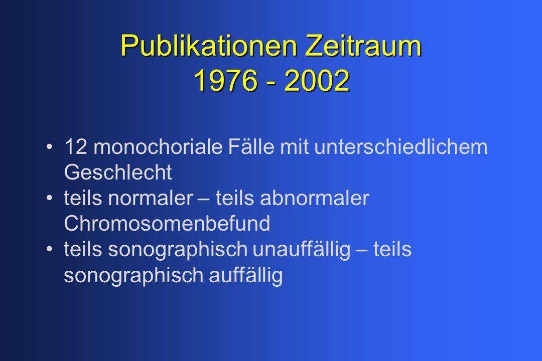 Publikationen Zeitraum 1976 - 2002
