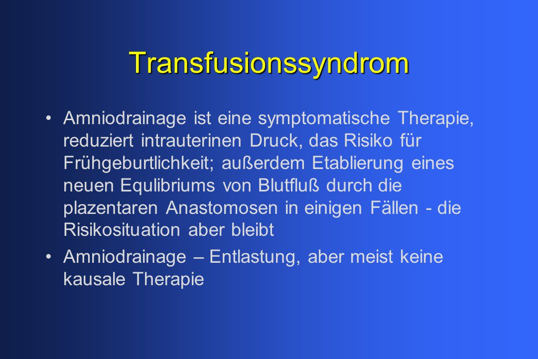 Transfusionssyndrom