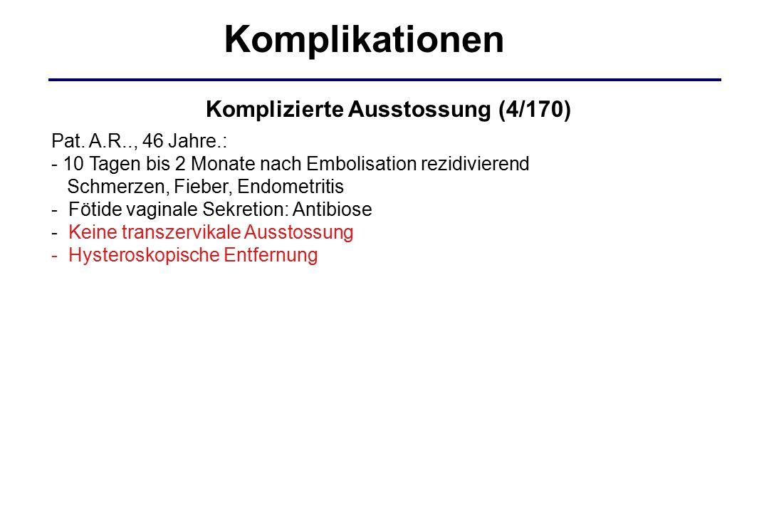 Komplikationen Komplizierte Ausstossung (4/170)