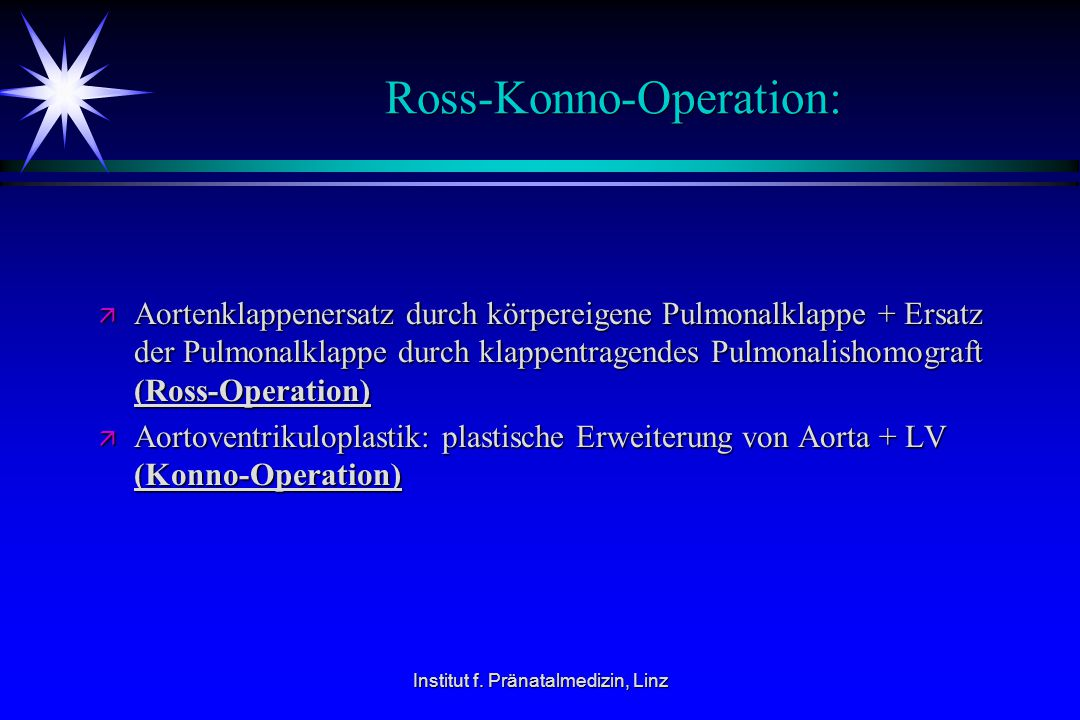Ross-Konno-Operation: