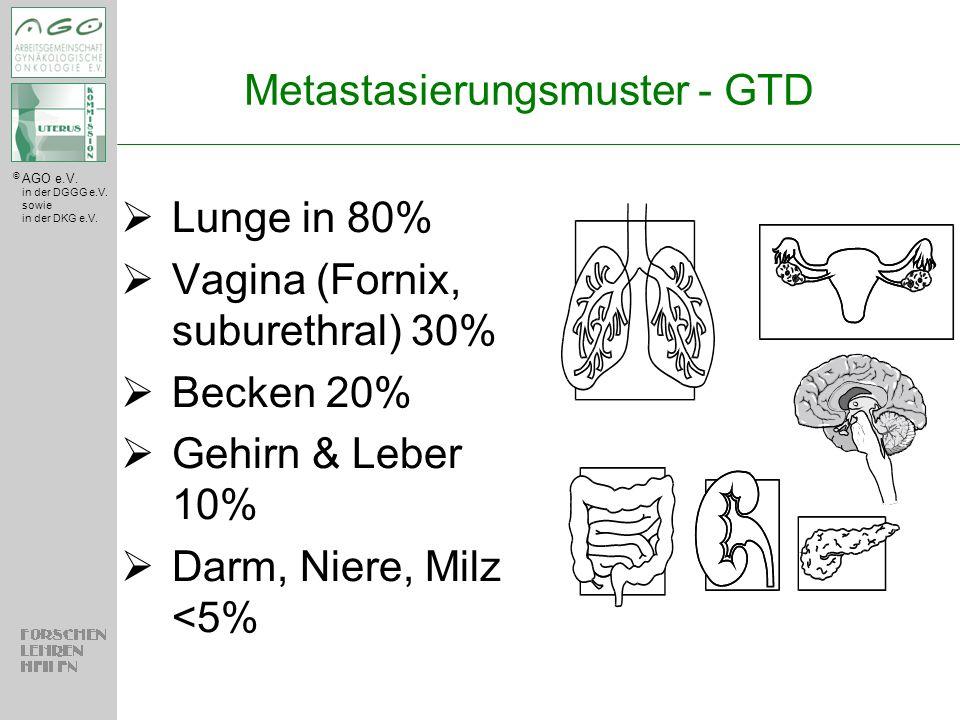 Metastasierungsmuster - GTD